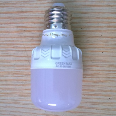 Bóng Led bulb GreenMax 5W